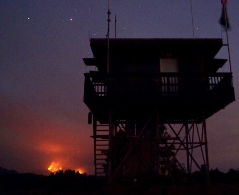 Dolan Fire as seen from Chews Ridge 06SEP2020