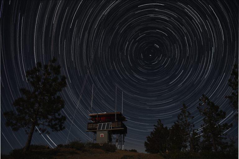 Star Trails Over Chews Ridge